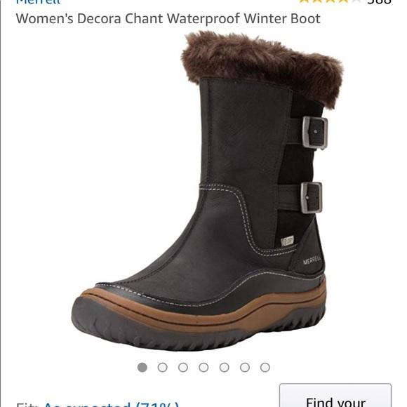 5b9a6264 Merrell Decora chant waterproof winter boot
